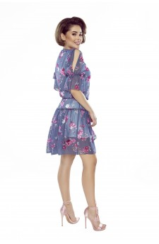 64-02 ILONA - comfortable and elegant blouse (diamond pink)
