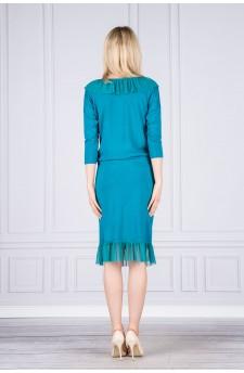 66-01 Ada classic and comfy blouse (feathers ecru)