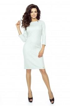 11-06 - TESSO - classic, daily tube dress (GRAY LIGHT)