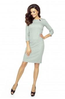 11-07 - TESSO - classic, daily tube dress (GRAY MEDIUM)