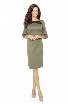 71-06 LISA classic and comfy dress(KHAKI)