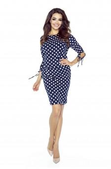 84-02 Venus comfy everyday dress (WHITE PEA)