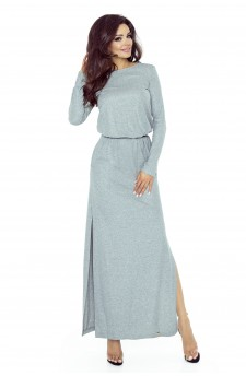 72-02 Tonia dress that will hide all your imperfections(GRAY AVERAGE FLASH)
