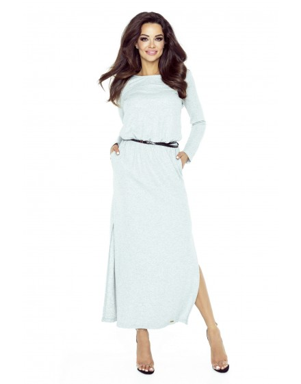 72-01 Tonia dress that will hide all your imperfections(GREY BRIGHT FLASH)