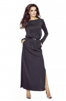 72-04 Tonia dress that will hide all your imperfections(BLACK FLASH)