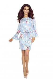 80-04 SAVA universal and comfy dress (blurred roses prints)