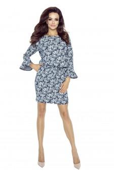 80-01 SAVA universal and comfy dress (butterflies)