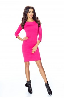 11-05 - TESSO - classic, daily tube dress (pink)