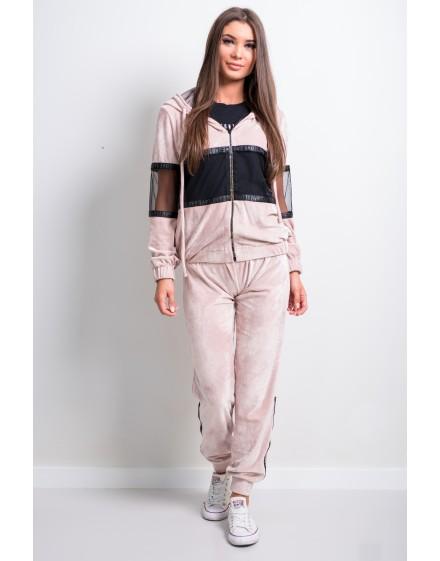 Sweatshirt, mesh, rubber, sequins