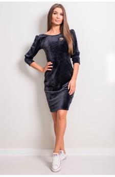 147-01 Sukienka welur