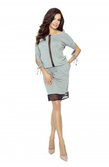 82-01 VARIA universal and comfortable dress(GRAY MEDIUM)
