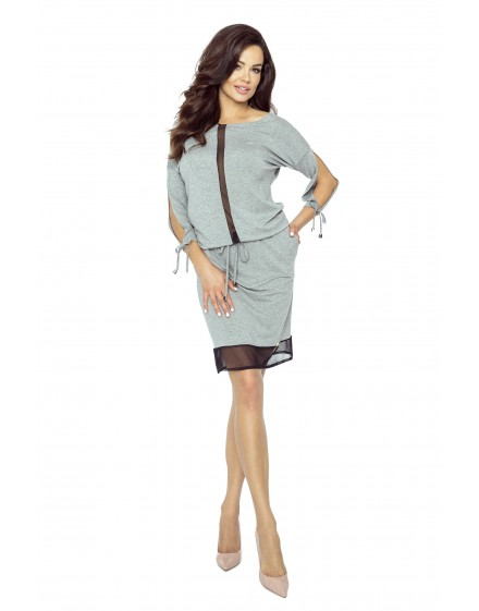 82-01 VARIA universal and comfortable dress(GRAY MEDIUM)