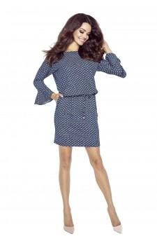 80-02 SAVA universal and comfy dress (dots)