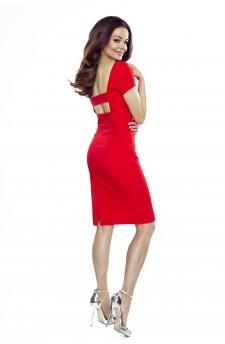 87-15 Paula comfy everyday dress (red)