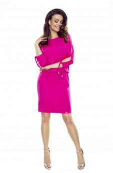84-12 Venus comfy everyday dress (pink)
