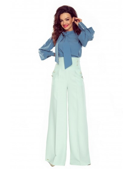 91-09 Elegant trousers with high status (mint)