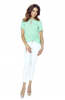 53-02 JOANNA blouse (mint)