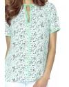 53-04 JOANNA blouse (flowers mint)