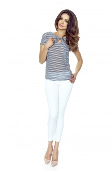 64-03 ILONA - comfortable and elegant blouse (diamond gray)