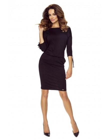 84-09 Venus comfy everyday dress (BLACK)