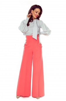91-10 Elegant trousers with high status (salmon)