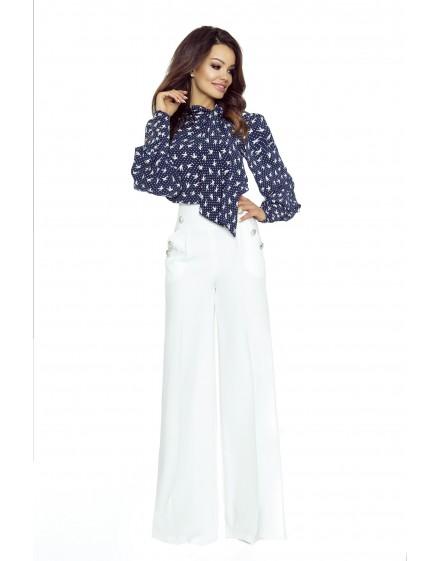 91-02 Elegant trousers with high status (ecru)