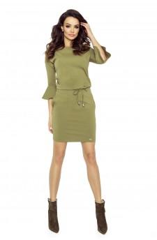 80-08 SAVA universal and comfy dress (khaki)